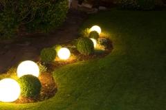 Gärten bei Nacht