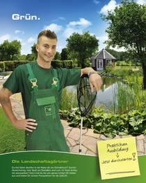 Neuer Azubi Startet Seine Ausbildung Zum Garten Und