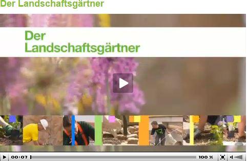 Der Landschaftsgärtner - ein Beruf mit Zukunft