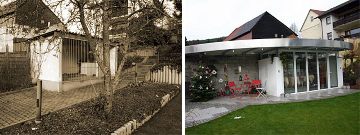 Lösungsbeispiele Vorher-Nachher - Kunkel Garten Otzberg