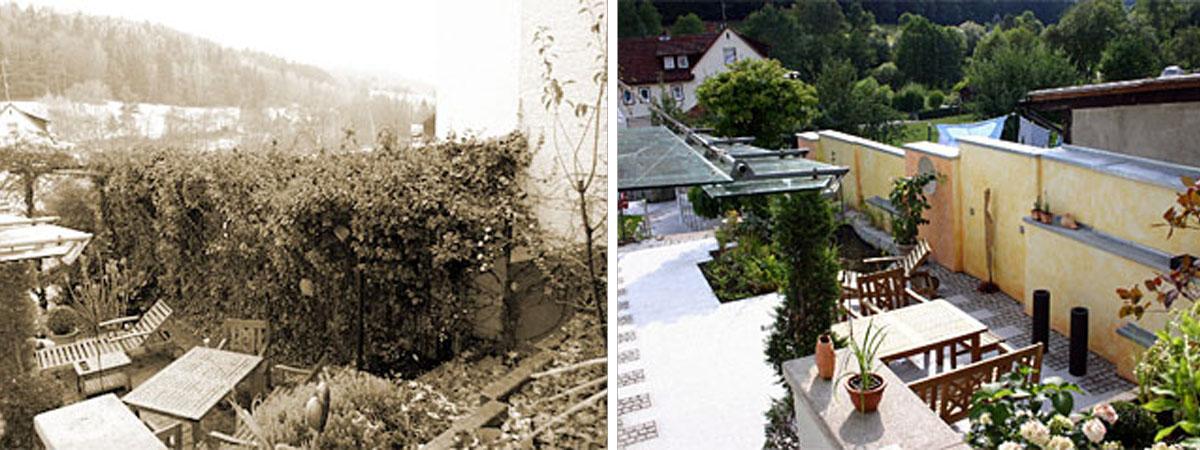 Lösungsbeispiele Vorher Nachher Kunkel Garten Otzberg