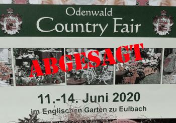 Abgesagt: Odenwald Country Fair 2020
