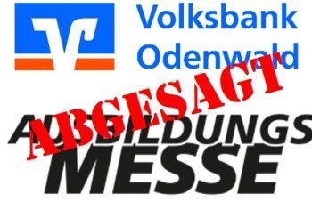 Abgesagt: Ausbildungsmesse der Volksbank Odenwald