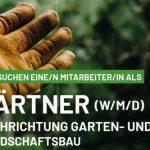 Wir suchen Sie als Gärtner (m/w/d)